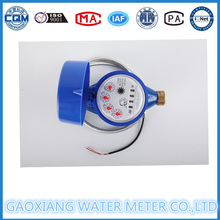 Latón tipo seco medidor de agua remoto con cable de lectura con RS485