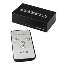 2 way HDMI Interruttore remoto IR