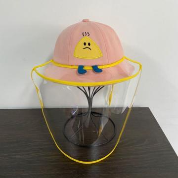 Chapeau de seau extérieur masque facial en plastique pour enfants