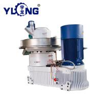YULONG XGJ560 Vertical ring die wood pellet machine