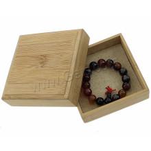 OEM Customized Logo Print Jewelry Supplies Boîte à bijoux en bois