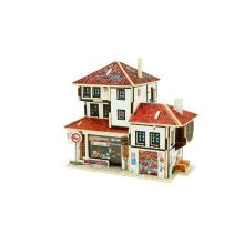 Juguete de coleccionables de madera para casas mundiales-Turquía