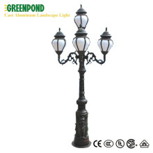 Classical 220V Outdoor LED Cast Aluminum Landscape Light
