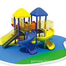 Plastic Playground for Kids, Plastic Slide Playground (JMQ-K071D)