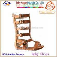 Princesa bling bling suave gladiador sandalias botas