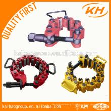Collier de sécurité de tuyau de type WA-T / WA-C API 7K pour forage d'huile