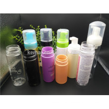 clear plastic PET soap foam pump bottle