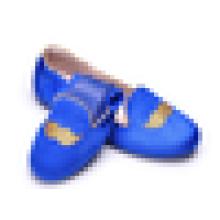 Novo modelo Laides Velvet Loafer superior sapatos na China Mulheres Flat Heel trabalho sapato