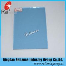 4-6mm dunkelblau getöntes Floatglas mit Ce / ISO