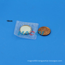 19mm 13mm PVC neo ndfeb button magnets for clothing