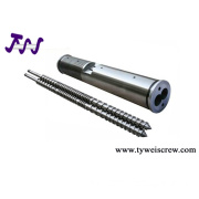 twin screw barrel,twin parallel screw barrel, plastic machinery spare parts
