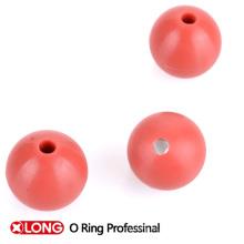 Ts16949 de alta calidad NBR Personalizar bola de goma sólida