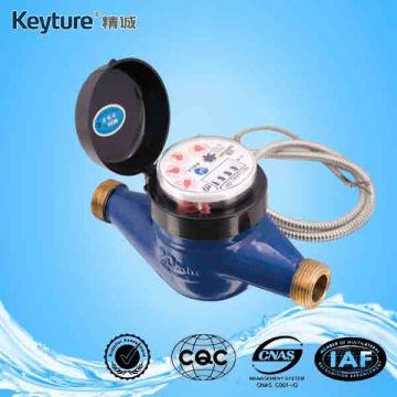 Medidor remoto de agua fría con cable