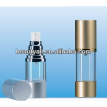 SAN airless bottles with line cosmetic packing
