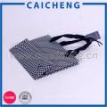 Poignée plate design personnalisé shopping cadeau imprimé sac en papier kraft