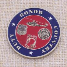 Fornecimento de metal mais barato Us Air Force Challenge Coin