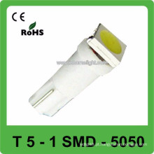 DC12V 2SMD 5050 10LM T5WG Luz de carro de substituição Painel