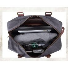 La mejor bolsa de lona impermeable del viaje del cuero de la lona de la mejor calidad