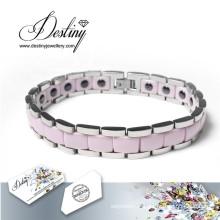 Destin bijoux cristaux de Swarovski céramique Bracelet