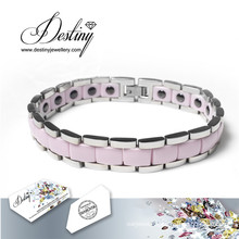 Destiny Jewellery Crystals From Swarovski Ceramics Bracelet