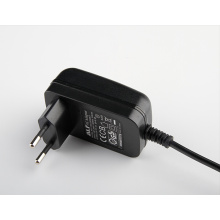 9V 1.4A power adapter with EU plug with CB CE GS  approved