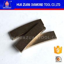 Segment de coupe de diamant pour le marbre