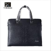 Исполнительный кожаный Мужской портфель для ноутбука с слотом для карт и держатель таблетки