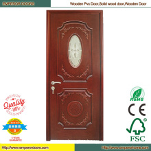 Simple Wood Door Wood Bedroom Door Machine PVC Door