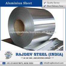 Proveedor confiable de hoja de aluminio de alta eficacia disponible para la compra a granel