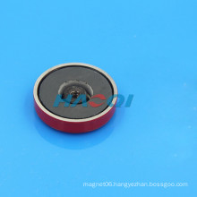 colored encased ceramic ferrite cup shaped magnets