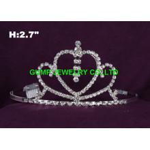 Coronas de desfile de diamantes