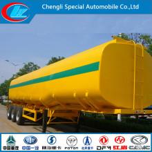 3 Axle Fuel Tank Trailer, 40000 Liters Fuel Tank Semi Trailer, China Made Fuel Tanker Trailer