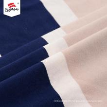 Maßgeschneiderte beliebte Polyester Rayon Kleid Spandex Stoff