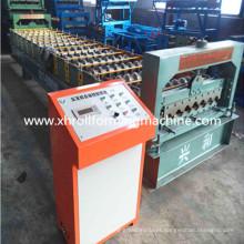 Máquina formadora de rolo de plataforma de chão de aço