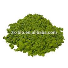 Polvo de pimiento verde seco