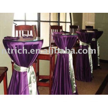 Satin table cover, Bar/Banquet table linen, Tablecloth