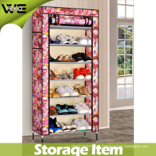 Dustproof Fabric Portable Best Storage Box Shoe Cabinet