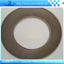 Stainless Steel Filter Disc with Round Hole