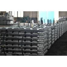 Lingote de zinco Preço, Liga de zinco Lingote 99,99% por tonelada