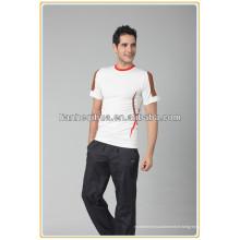 Vente en gros de vêtements de sport sans couture, vêtements manches sans manches pour hommes