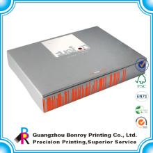 Caja de embalaje de papel artesanal y embalaje de envío y caja de empaquetado de envío corrugado para logotipo personalizado