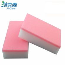 Меламиновая губка розового цвета