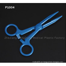 CE e FDA Certificado Blue Scissors Titanium Coating Hair