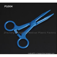 CE и FDA Сертифицированные синие ножницы Титановые покрытия волос