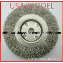 """6"""" Stainless Steel Wheel Brush Popular for USA (YY-347)"""