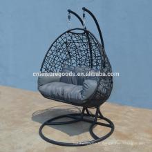 2017 nouveau design rotin chaise suspendue pour jardin