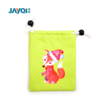80% Polyester 20% Polyamide 190gsm Eyeglass Pouch