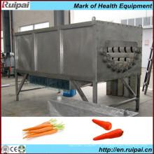 Máquina de lavagem e descascador de cenoura