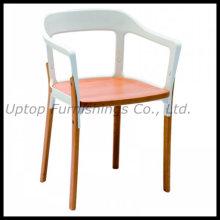 Restaurant Furniture Metal Steelwood Armchair (SP-EC798)
