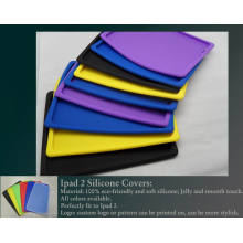 Best Quality Colorful Custom for iPad 2 Silicone Cover